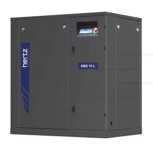 Hertz Kompressoren Hbd 15 (100 Psi) Screw Compressor - Base Mounted