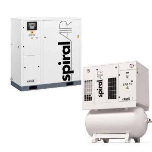 CHICAGO PNEUMATIC SPR30 T W/ DRYER 30 HP COMPRESSOR ITEM 8153605236